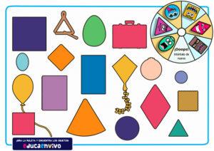 actividades de figuras geométricas en infantil